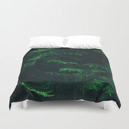 Green pine Duvet Cover
