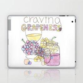 Craving Grapeness Laptop & iPad Skin