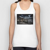 alone Tank Tops featuring Alone by SpaceFrogDesigns