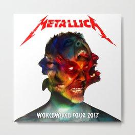 Worldwired Tour 2017 Metall Metal Print