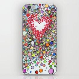 Pop Love Intoxication iPhone Skin