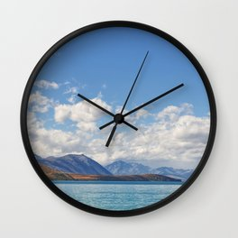 Lake Tekapo 2 Wall Clock
