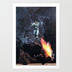 cosmonaut... Art Print