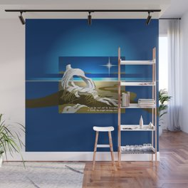 The Bright Morning Star Wall Mural