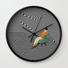 New Dimensions IV Wall Clock