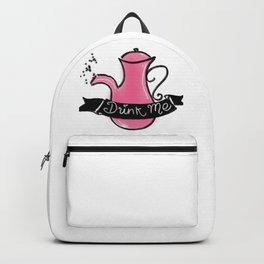 Drink Me Teapot (no background) Backpack