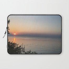 Sunset on the Lake Laptop Sleeve