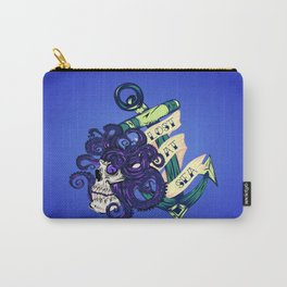 Lost at Sea Octopus, Skull, and Anchor Carry-All Pouch