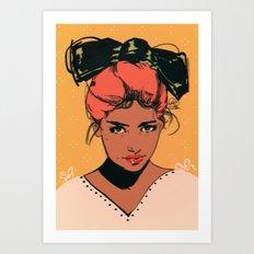 bow Art Print