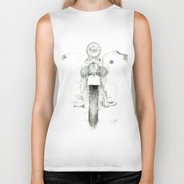 Motorcycle 1 Biker Tank