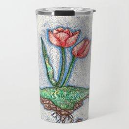 Floating Tulip Travel Mug