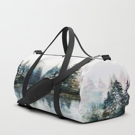 Winter Morning Duffle Bag