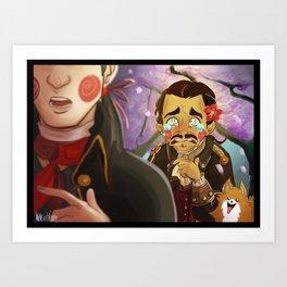 Haytham-senpai Art Print