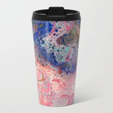 Flamingos by the Sea Travel Mug