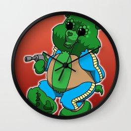 greedo bear Wall Clock