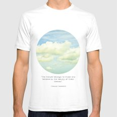 The beauty of the dreams Mens Fitted Tee White SMALL