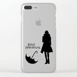Klaus Hargreeves Umbrella Academy Clear iPhone Case