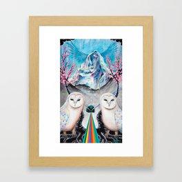 Die Nacht Reisende (The Night Travellers) Framed Art Print