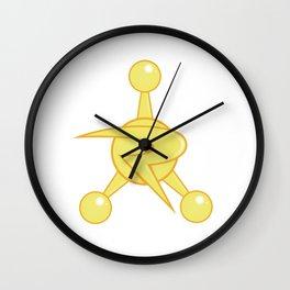 Council of Ricks Golden Badge Wall Clock