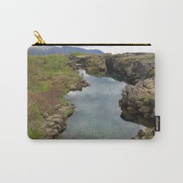 Thingvellir Iceland Carry-All Pouch