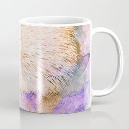 Sweet Champagne Hedgehog Watercolor Effect Coffee Mug