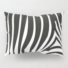 Zebra Stripes | Black and White Pillow Sham
