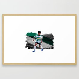 mighty darnell Framed Art Print