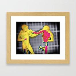 Knock out Framed Art Print