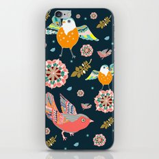 Dancing with flowers iPhone & iPod Skin