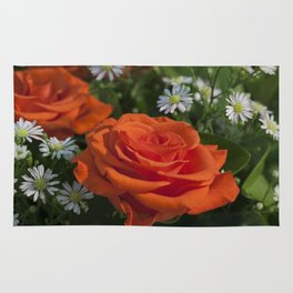 Bouquet of flowers Rug