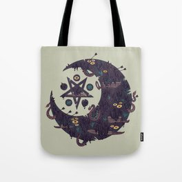 The Dark Moon Compels You to Fuck Shit Up Tote Bag