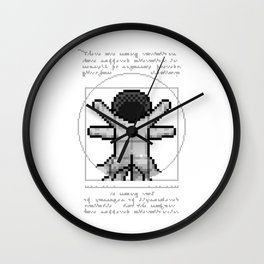 LEO (back) Wall Clock