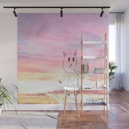 #LOVECAT - Shifty Catter  Wall Mural