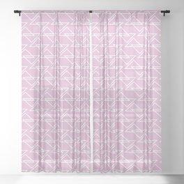 Zigzag II Sheer Curtain