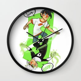 Going Ghost Wall Clock