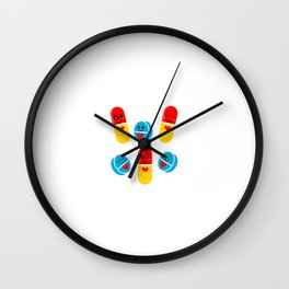 "Are You A Loving Person? Then This Is Te Perfect Tee For You Saying ""Your Love Is My Drug"" T-shirt Wall Clock"