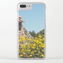 English Walled Garden High Summer Clear iPhone Case
