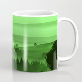 My road, my way. Green. Coffee Mug