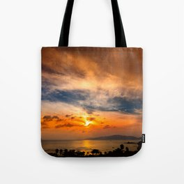 A Sunrise Glow Tote Bag
