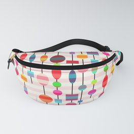 Colorful pearls Fanny Pack