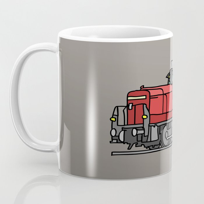 Diesel locomotive Coffee Mug