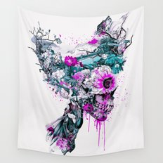Don't Kill The Nature IV Wall Tapestry