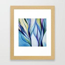 organic abstract Framed Art Print