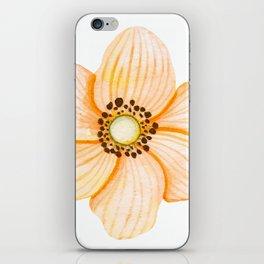 One Orange Flower iPhone Skin