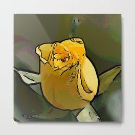 Yellow Rose 715 Metal Print