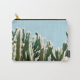 Tall cacti | Cactus photo print | Colourful travel wanderlust photography art Carry-All Pouch