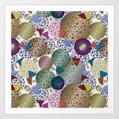 Penrose Tiling Inspiration Art Print