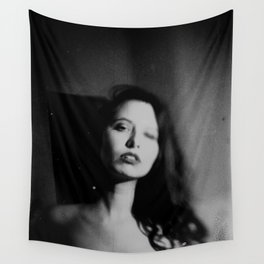 naked noir Wall Tapestry