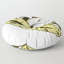 Sun meets Yoni Floor Pillow