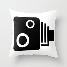 Speed Camera Throw Pillow